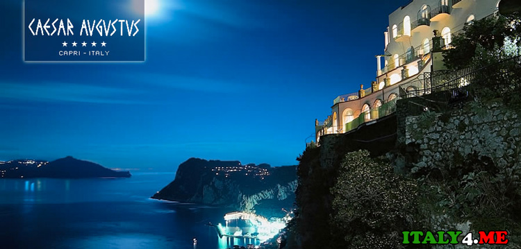 Hotel Caesar Augustus на острове Капри