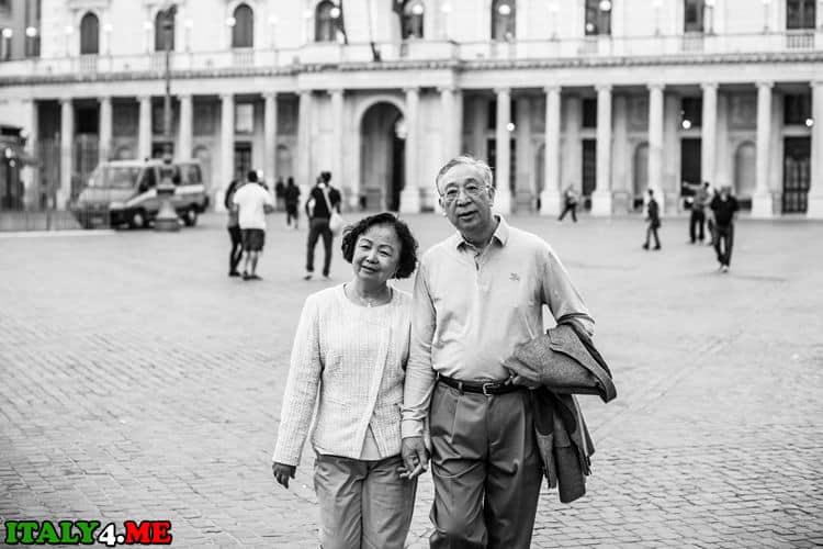 Прогулка в Риме фотосессия
