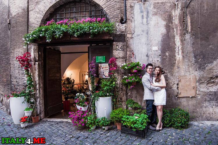 Путешествие в Италию фотосессия в Риме