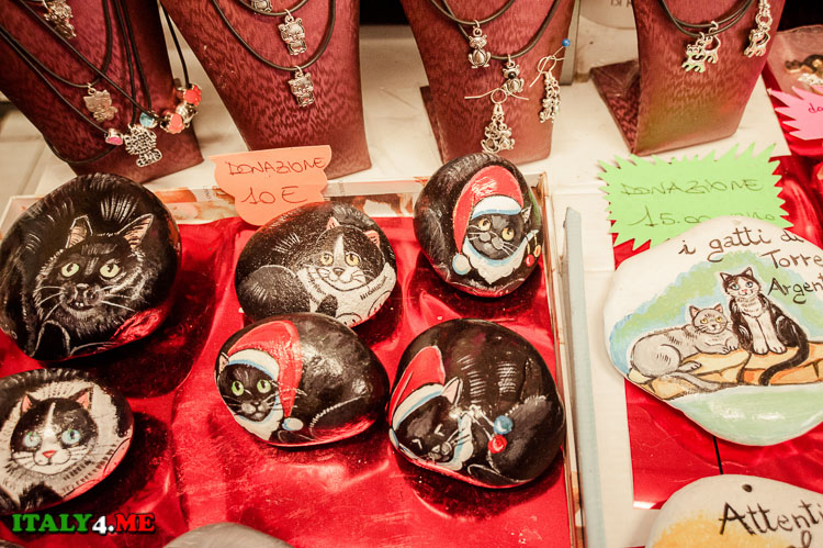 сувениры на кошачью тематику