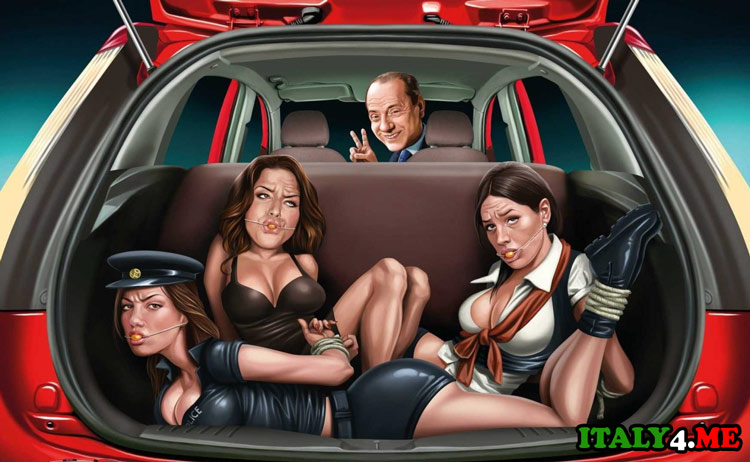 Сильвио Берлускони и проститутки