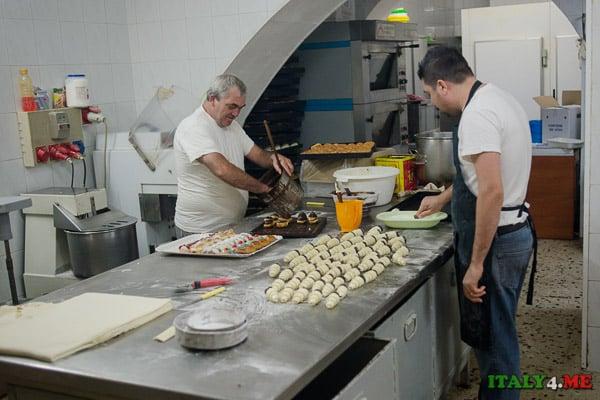 кухня кондитерская Сицилия