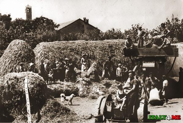 итальянские крестьяне
