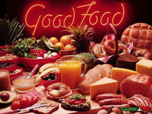 Культура питания в Италии