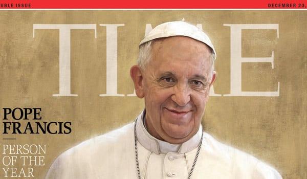 Time папа римский Франческо