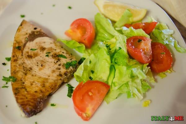 Сицилия тунец ресторан