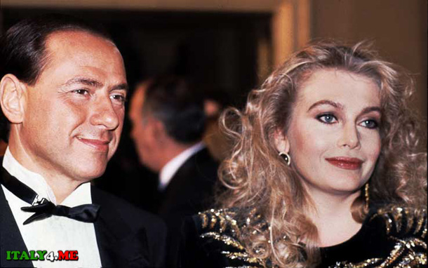 Сильвио и Вероника Берлускони свадьба