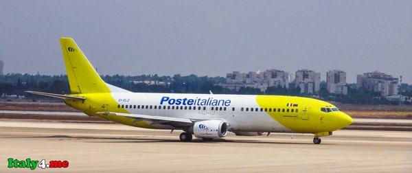 Boeing 737 итальянская почта
