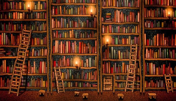 библиотека Италия