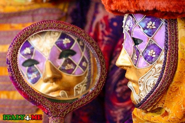 маска Венеция