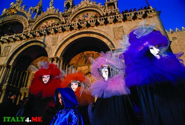 Венеция карнавал