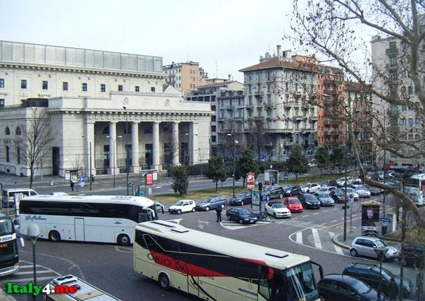 Милан аэропорт автобусы