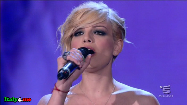 итальянская певица Эмма Мароне