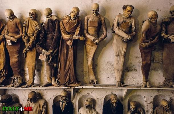 катакомбы капуцинов музей Сицилия