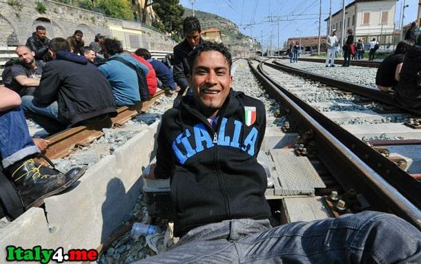 остров Лампедуза нелегальный иммигрант
