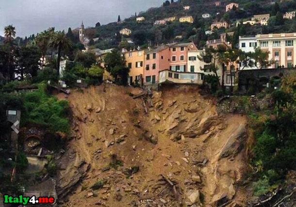оползни в Италии эвакуация жителей