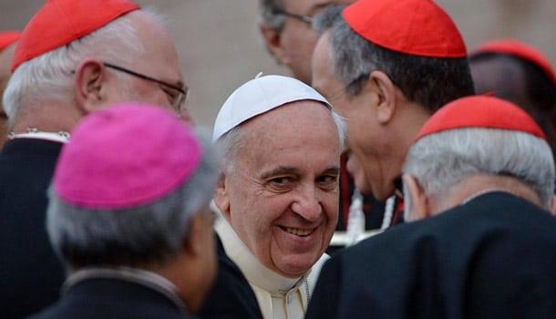 папа франческо и кардиналы