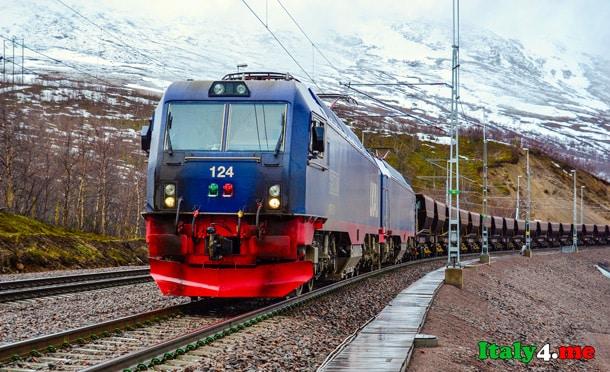 поезд в Норвегии