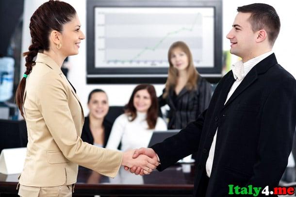 собеседование на работу в Италии