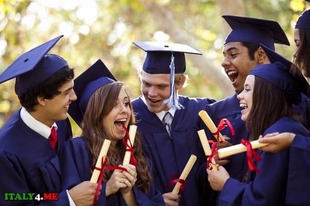 высшее образование – студенты выпускники в Италии