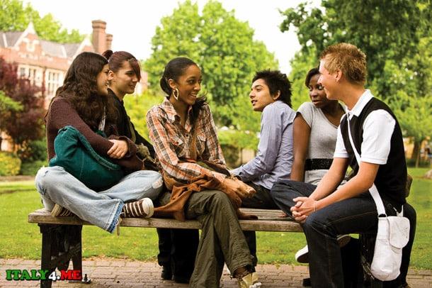 студенты итальянского университета