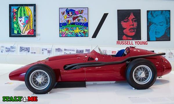 Maserati 250F Museo_Casa_Enzo_Ferrari