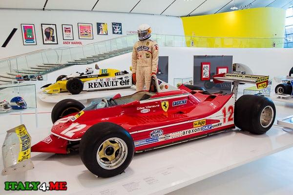 Ferrari 312 T4 в доме-музее Феррари, Модена
