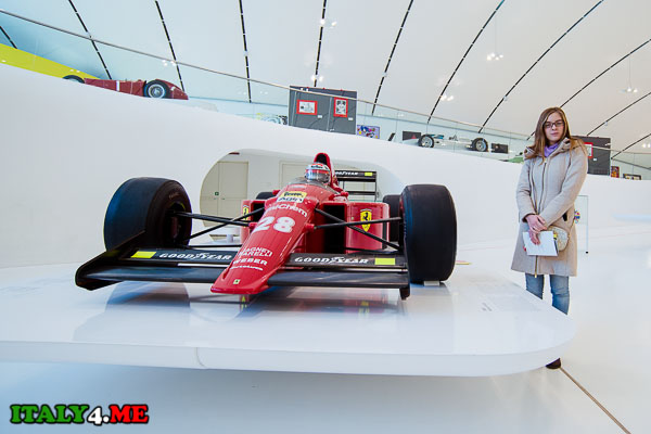 Ferrari F1-89 в доме-музее Энцо Феррари