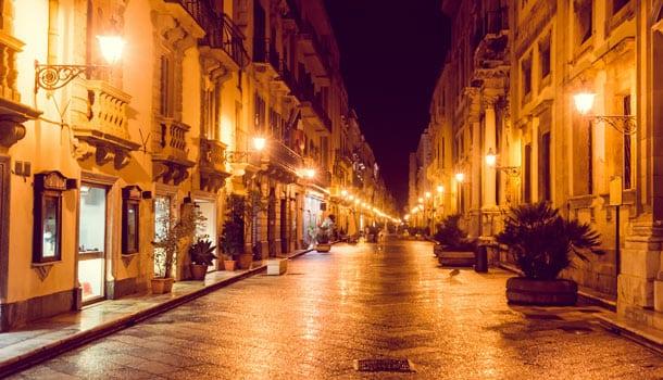 город Трапани Сицилия