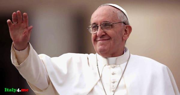 папа римский Франческо дает советы влюбленным