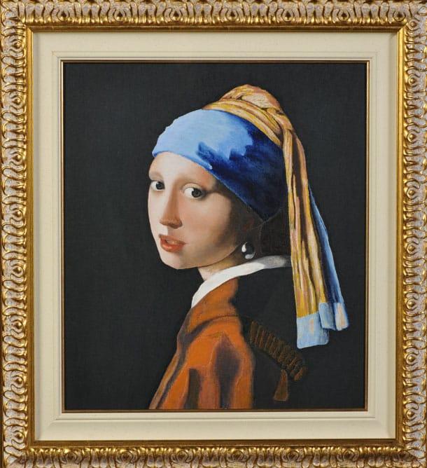 картина Девушка с жемчужной сережкой