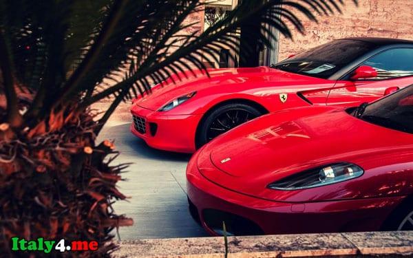 итальянский спорткар Ferrari