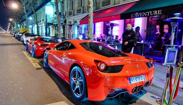 автомобили главарей итальянской мафии