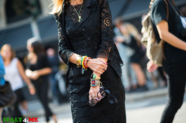 неделя уличной моды в Милане 2014