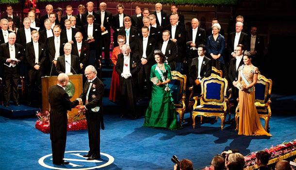 вручение нобелевской премии