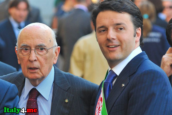 президент и премьем-министр Италии
