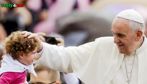 Папа Франциск и дети