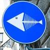 дорожный знак в Неаполе