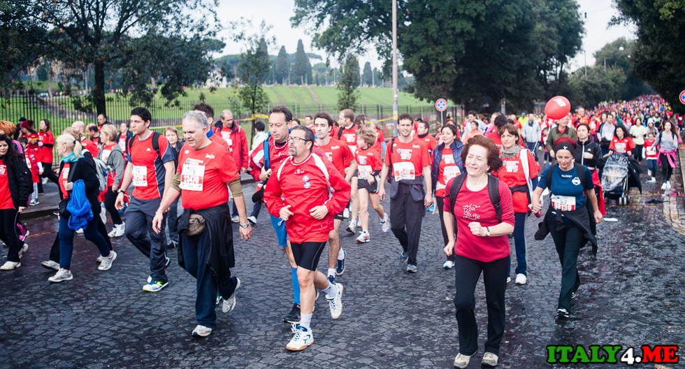 римский марафон
