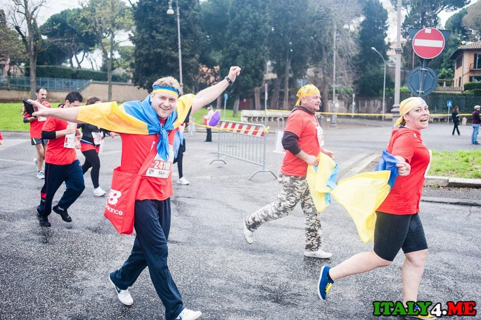 марафон в Риме украинцы