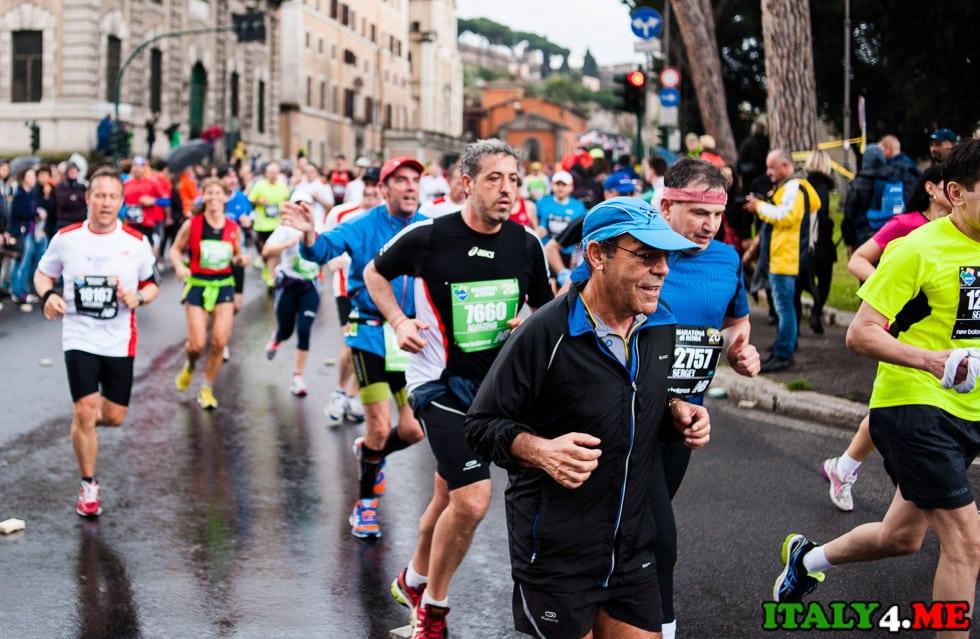 марафон в Риме участники