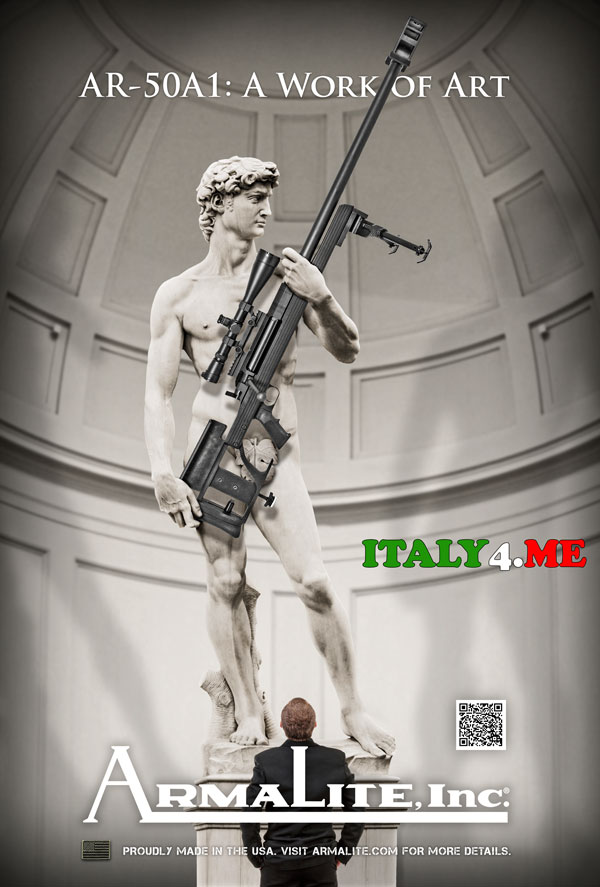 Вооруженный Давид реклама