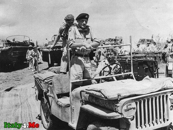 Сицилия маршал Монтгомери 1943 год