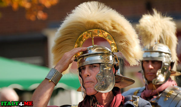 Модель Римского солдата