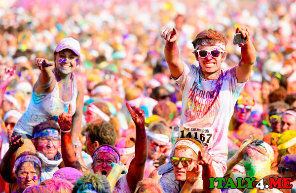 Color Run в Турине