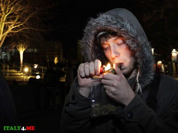 курение марихуаны в Италии