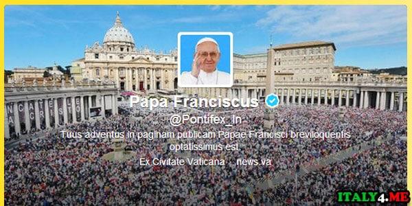 Твиттер Папы Римского