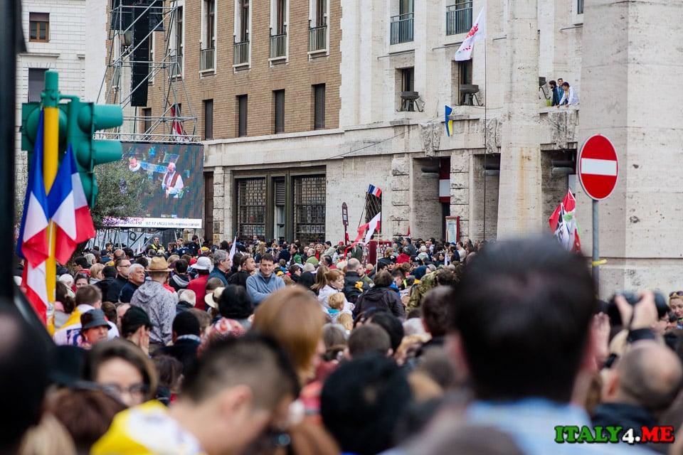 007-канонизация -римского-папы-27-апреля-2014-Рим