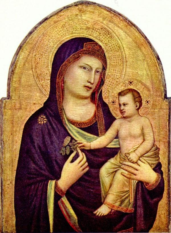 Мадонна с Младенцем колокольня Джотто
