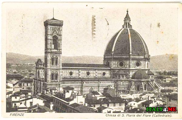 собор Дуомо Флоренция 1926 год